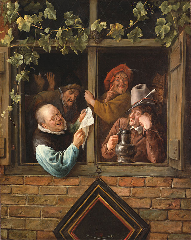 Jan_Steen,_Dutch_(active_Leiden,_Haarlem,_and_The_Hague)_-_Rhetoricians_at_a_Window_-_Google_Art_Project - Kopya